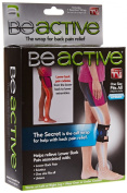 BeACTIVE Acupressure Calf Leg Brace for Treating Back, Hip Pain, Sciatica (As Seen on TV 'Be Active' Brace) by Global Care Market