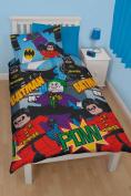Lego Batman Dynamic Single Duvet Polycotton Bed Set