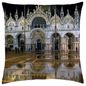Venice,Italy - Throw Pillow Cover Case (18