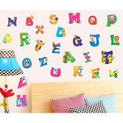 Generic A-Z Animals Alphabet Wall Stickers Nursery Kids Room Decals