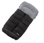 Bozz Artic Universal Footmuff - Black/Grey