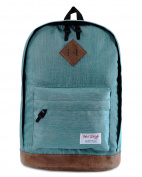 HotStyle 936 Plus Unisex All Purpose Backpacks (26L) Fits 40cm Laptop, LightSeaGreen