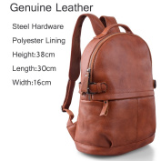 AB Earth Womens Genuine Cow Leather Casual Daily Backpack Handbag, M752