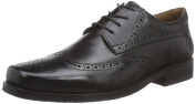 Manz Men's FERMO Brogue Lace-Up Half Shoe