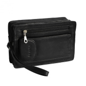 Branco Men's Organiser Clutch Multicolour MULTICOLOURED, BLACK (Black) - 0