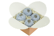 Calm Your Spirit Ultra Lush Bath Bomb Gift Set - Lavender And Chamomile All Natural Handmade Bath Bomb