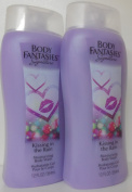 x2 Body Fantasies Kissing In The Rain Body Wash 350ml each