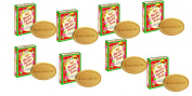 Pack of 8 - Mysore Sandal Bathing Soap - Superior with Pure Sandalwood Oil - 75g