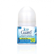 Ice Guard Natural Crystal Rollerball Deodorant with Tea Tree 50ml