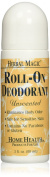 Home Health Herbal Magic Roll-On Deodorant, Unscented, 90ml