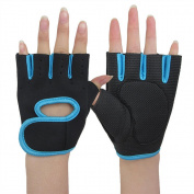 Savena Gym Weightlifting Exercise Half Finger Sport Cycling Fitness Gloves