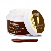 BodyHerbals Ancient Ayurveda 1 minute pedicure, Foot Scrub Tea Tree oil, lemon oil & vitamin B3, 100ml 100% Natural