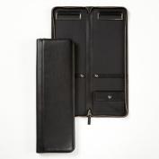 Tie Case - Full Grain Leather - Black Onyx