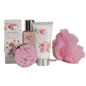 Bulgaria Rose Garden Spa & Bath Gift Set By Lovestee