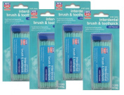 Brush & Toothpick, Brushpicks 4 Packs of 2, 480 Total Picks