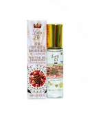 Lucy B Cosmetics Roll On, Royal Peony Rose and Mandarin Musk, 0.33 Fluid Ounce by Lucy B Cosmetics