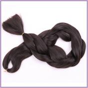 New Bee Hair(TM)1Pcs/Lot Kanekalon Brown Braiding Hair 110cm 165G Synthetic High Temperature Fibre Jumbo Braid Hair Extention