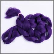 New Bee Hair(TM)1Pcs/Lot Kanekalon Purple Braiding Hair 110cm 165G Synthetic High Temperature Fibre Jumbo Braid Hair Extention