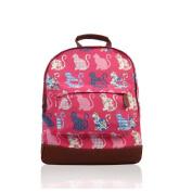 NWNK13® Printed Canvas Rucksack School Uni Bag Backpack Travel Satchel Shoulder