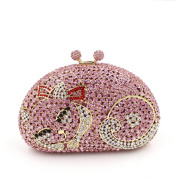 Chirrupy Chief Cute Cat Clutch Purse For Women Luxury Rhinestone Crystal Evening Clutch Bags
