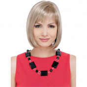 Elegant Women Occidental Style Short Neat Bangs Straight Bob Daily Hair Wigs