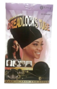 King.J Cotton Spandex Dreadlocks Tube - Black