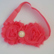 Chicky Chicky Bling Bling Girls Pink Shabby Bow Headband Womens Pink
