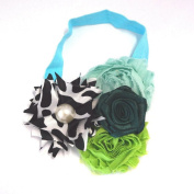 Chicky Chicky Bling Bling Girls Vibrant Shabby and Satin Chic Headbands Womens