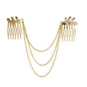 Veewon® Fringed Fashion Chain Comb Hair Plug