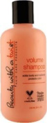 Volume Shampoo - Organic Certified Paraben & Sulphate Free - Adds Volume and Resilience Preserves while Protecting Colour - Fl 60ml - Salon Quality Hair Care - Beauty With A Twist