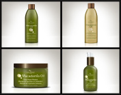 Hair Chemist Macadamia Oil Deluxe Hair Care Collection - 4 Piece Set