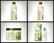 Hair Chemist Bamboo Strengthening Deluxe Hair Care Collection - 4 Piece Set