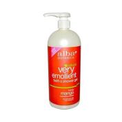 Alba Botanica Very Emollient, Honey Mango Bath & Shower Gel, 950ml