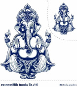 Bg Temporary Tattoo Inspire Series-indian God
