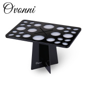 Ovonni Makeup Brush Tree Brush Dryer Holder Organiser Hanger Folding Collapsible Air Drying Tower
