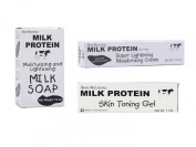 Milk Protein Face Lightening Set