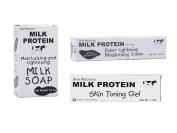 Milk Protein Face Lightening Set
