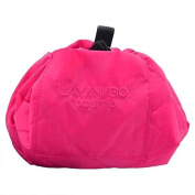 Lay N Go Cosmo 50cm Pink Cosmetic Easy Travel Toiletry Makeup Bag Organiser