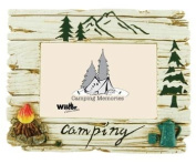 Camping Theme Photo Frame, 4x6