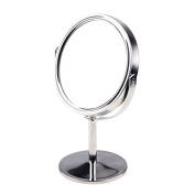 KevenAnna 15cm Tabletop Two-sided Swivel Vanity Mirror with 8x Magnification, Suitable for Bedroom and Bathroom
