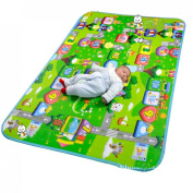 MaBoShi 71*120cm 2 Styles One Side Extra Large Thickness Baby Crawling Mat