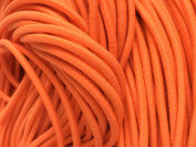 Neon Orange Elastic Stretch Shock Cord 3mm 20 yards 18 metre