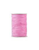 FreshHear Pack of 1 for 170m Korea Waxed Cotton Cord Colour Light Pink Size 1x1mm