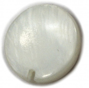 Bead, Mother of Pearl 12mm Pendant Bead x 8pcs