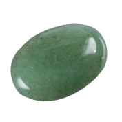 """2pcs AAA Natural Green Aventurine Oval Cabochon Flatback Gemstone beads 20x15mm or 7.87""""x5.91"""" #GN32"""