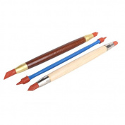 3Pcs/set Polymer Clay Pottery Sculpture Carving Modelling Tools Double-Head