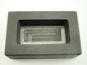 250 Gramme Silver Bar High Density Graphite Ingot Mould Loaf Style 1/4 Kilo