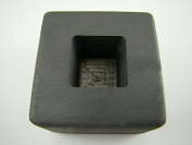 60ml Gold 30ml Silver Bar High Density Graphite Tall Cube Mould Loaf Copper