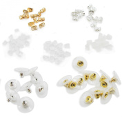 TOAOB Earring Safety Backs Earring Keepers Mix Colour Making Pack of 700pcs