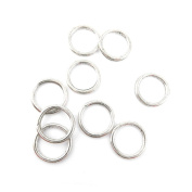 Price per Lot 10 PCS Jewellery Making Charms Antique Silver Tone Colour Jewellery Charme Findingss Bulk Wholesale Suppliers Arts Crafts 20022 Jump Rings 19mm